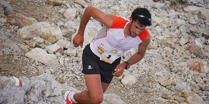 Kilian Jornet, Skyrunning World Champion and Ultra ranking leader. © Jordi Saragossa