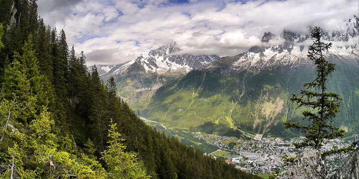Chamonix, 2014 Skyrunning World Championships location. ©iancorless.com