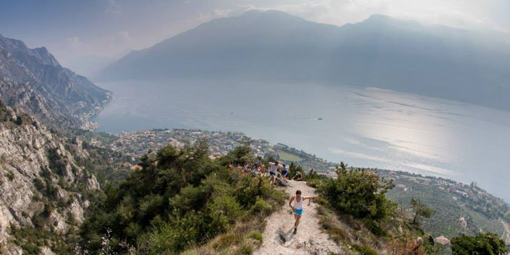 Limone, Lake Garda,site of the VK & Sky finals. © Droz Photo