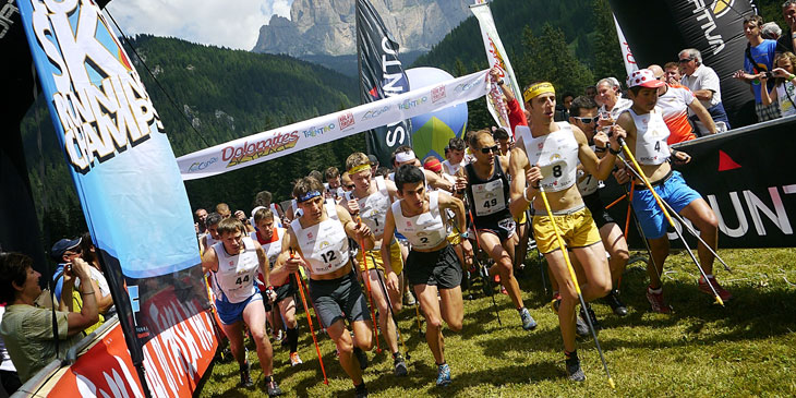 Dolomites VK start. © Ian Corless