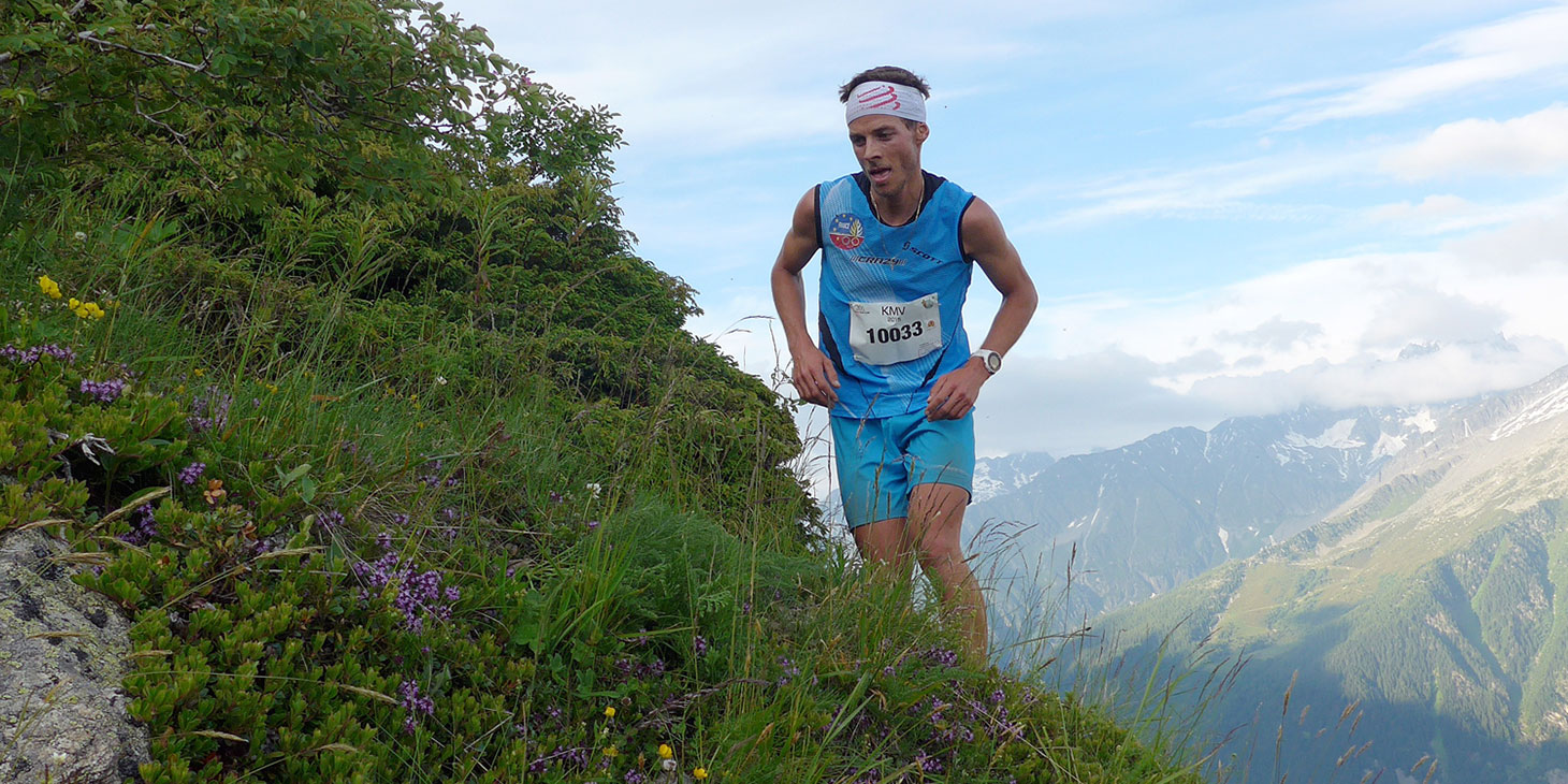 Alexis Sevennec, Compressport, 14th in the Mont-Blan KV © ISF